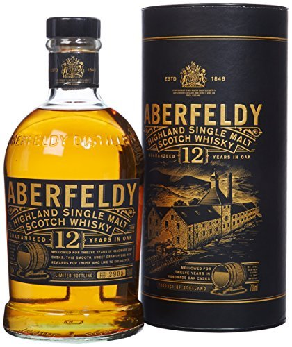 Aberfeldy Highland Single Malt Whisky 12 Jahre (1 x 0.7 l) - Amazon Angebote