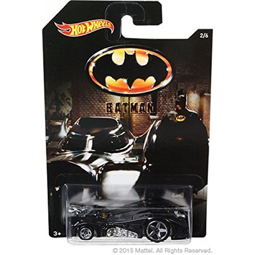 Hot Wheels Batman 2015: Batman 1989 Film Batmobile