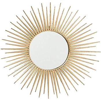 Set Di 3 Bronzo Hogar Y Mas Specchi Da Parete Decorativo Specchio Rotondo Elegante Design Vintage 35x35x35 Cm Decorazione Della Casa Decape Specchi Da Parete