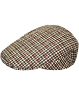 TOSKATOK® Mens Tweed Flat Cap