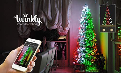 Twinkly le luci per l albero di natale controllabili con lo