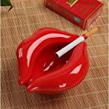 Ceniceroparahogar/oficina,Ash Labio y ceniceros de cerámica, Moda, Cenicero mini regalos,C3