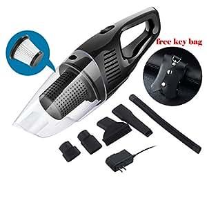 nianpu aspirateur de voiture sans fil avec pochette porte cl de voiture vacuum. Black Bedroom Furniture Sets. Home Design Ideas