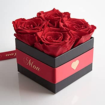 rosenbouquet flowerbox mon coeur mein herz 4. Black Bedroom Furniture Sets. Home Design Ideas