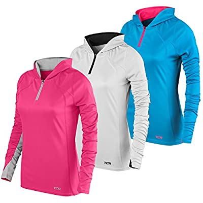 Women's TCA Energy 1/4 Zip Lightweight Running Hoodie