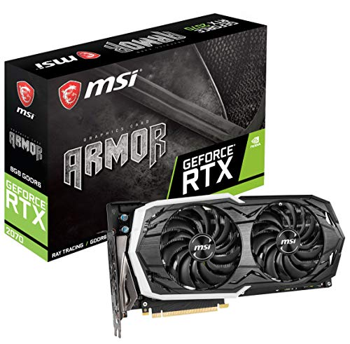 MSI RTX 2070 Gaming Z 8G GeForce 256-Bit HDMI/DP/USB Ray Tracing Turing Architecture Grafikkarte 16 Output Fuse