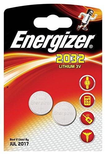 ENERGIZER - 628747, CR2032 LITHIUMBATTERIE, 2 STÜCK (2er Set) 2 Cr2032 Batterien
