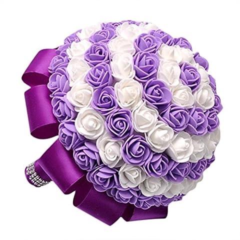 Hlhn coloré Cristal roses Perle Demoiselle d