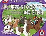 Schmidt Spiele 40586 Horse Club Stock und Stein-Schleich, Kinderspiel, bunt