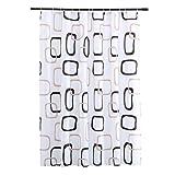 shane&shaina überlappend Block lang groß größe wasserdicht duschvorhang hängen Vorhang (überlappend Block, höhe:230cm/90.55in;breite:200cm/78.74in)