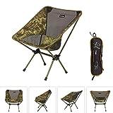ZXH Camping Stuhl, Portable Leichter Klappstuhl für Backpacking, Wandern, Picknick, Angeln und Fußballspielbeobachtung (Farbe : C)
