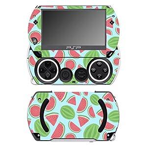 Disagu SF-14232_1067 Design Folie für Sony PSP Go – Motiv Wassermelonen blau transparent