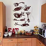 Hoopoe Decor Laughing Kitchen Utensils W...