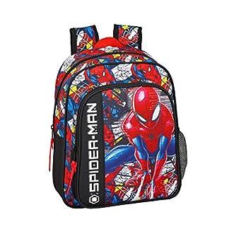 Spiderman «Super Hero» Oficial Mochila Escolar Infantil 270x100x330mm