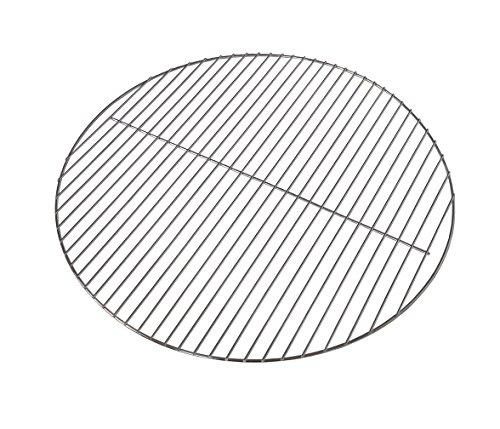 Kenley Grillrost Verchromt Stahldraht für Holzkohlegrill Gasgrill - Rund - Diameter 54.5cm