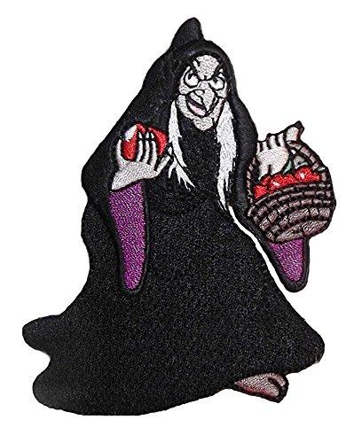chen böse Königin Hexe mit Korb Äpfel Eisen auf Disney-Patch (Böse Königin Disney)