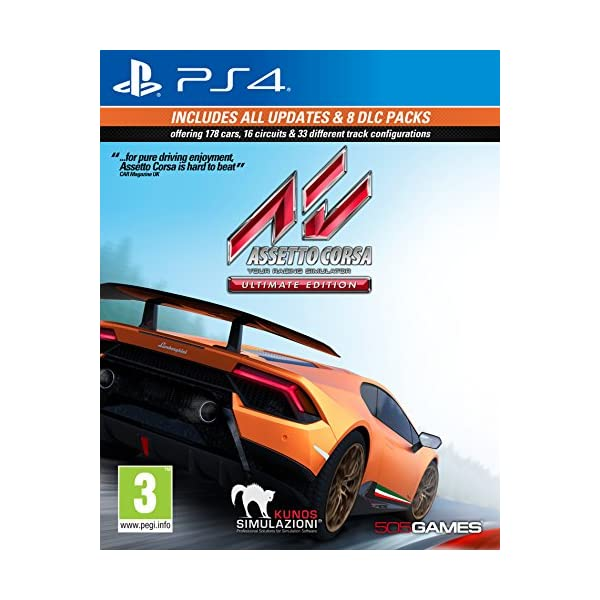 Assetto Corsa Ultimate Edition (PS4) 51M 2Blhn6M7L