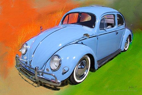volkswagen-t1-beetle-1957-peinture-numerique-sur-toile-30x45-cm