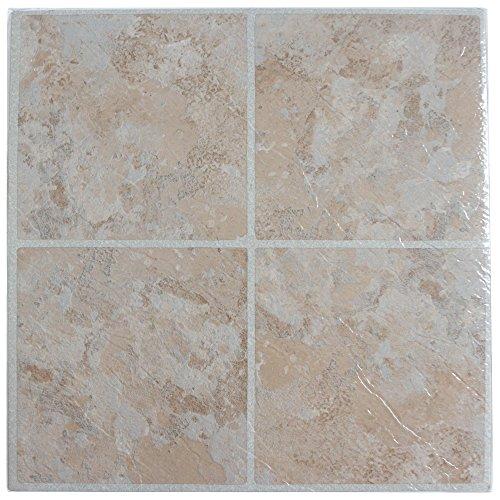 28x Azulejos de suelo de vinilo–autoadhesivas–Cocina/baño Sticky–Marca nuevo–Peach tradicional cerámica 190