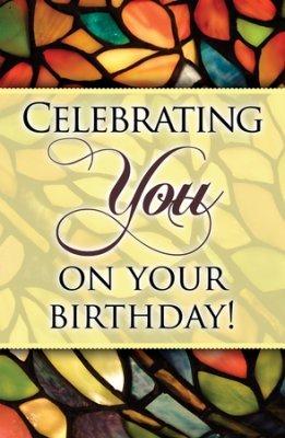 Feiern You On Your Birthday (1thessalonianss 1: 2), Postkarten, 25Stück (Jesus Christus Happy Birthday)