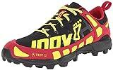 INOV8 X-Talon 212 Zapatilla de Trail Running Señora, Negro/Rojo/Amarillo, 38