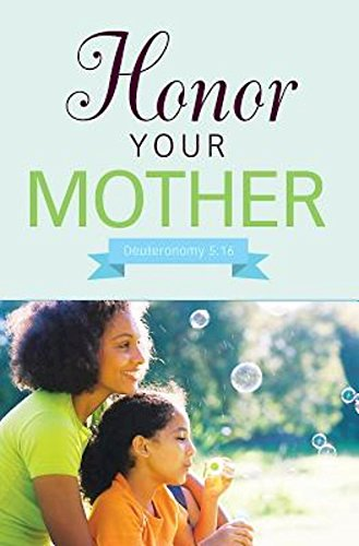 Bubbles Mother's Day Bulletin (Pkg of 50): African Amercian Mother and Daughter -
