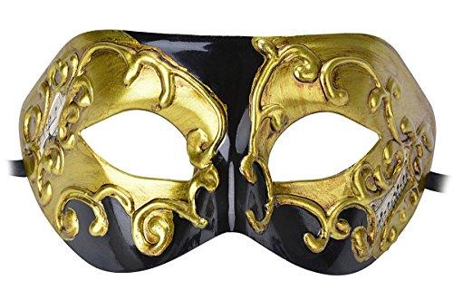 Máscara Carnaval Veneciano Oscura