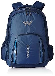 Wildcraft 50 liters Nylon Blue Laptop Bag (8903338046233)
