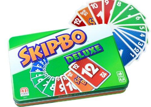 Preisvergleich Produktbild Mattel L3671 - Skip-Bo Deluxe, Kartenspiel