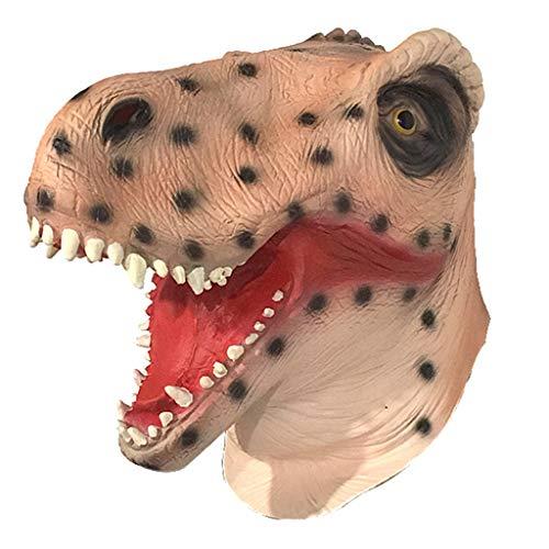 LYLLB-festival items Latex Tyrannosaurus Rex Maske Headset Halloween Party Kostüm Dekorative Maske