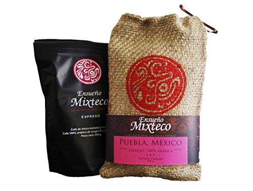 Ensueño Mixteco Café molido con bolsa de yute -250 gr