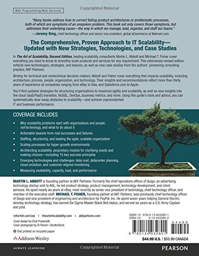 The Art of Scalability: Scalable Web Architecture, Processes, and Organizations for the Modern Enterprise