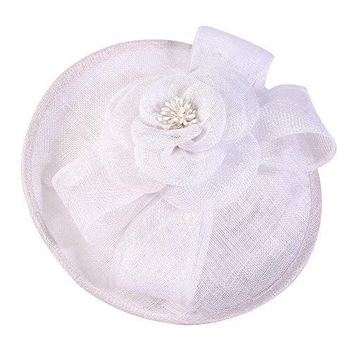 kyprx Fischer lässig Freizeit Angeln Kostüme britische weibliche Leinen Kopfschmuck Hüte Dinner Party Hochzeitsfotografie Braut (Weibliche Kobold Kostüm)