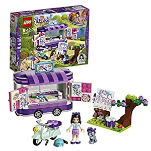 LEGO-Friends Lo Stand dell'Arte di Emma, Multicolore, 41332  LEGO