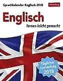 Sprachkalender Englisch - Kalender 2018: Englisch lernen leicht gemacht - Jennifer Gallagher