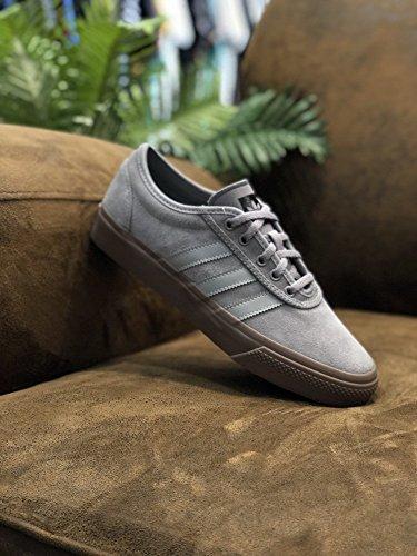 check out 9d359 f9aac adidas Unisex-Erwachsene Adi-Ease Skateboardschuhe, Grau (GrpuchGrpumgGum5