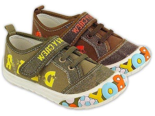 Becker-Schuhe , Chaussures de ville à lacets pour garçon Beige - Beige