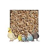 5 kg Buchenholzgranulat Vogelsand Bodengrund Terrariensand Einstreu Terrariumsand Tiereinstreu Grob