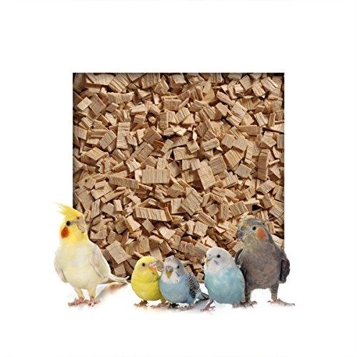 Kieskönig 20kg Buchenholzgranulat Vogelsand Bodengrund Terrariensand Einstreu Terrariumsand Tiereinstreu Grob 3,0-10 mm