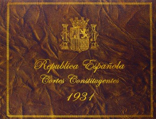 República Española. Cortes Constituyentes de 1931 (Geografía e Historia)