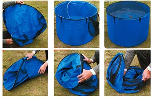 Aquaforte Blue Folding Sink Flexi Bowl Diameter 180x 60cm (H)