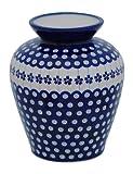 Original Bunzlauer Keramik Vase / Blumenvase , Höhe 19,7cm im Dekor 166a