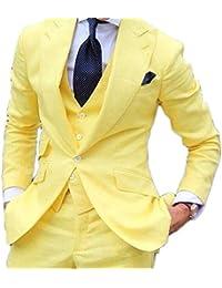 Abito giallo da uomo