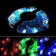 Bicicletta Flower drum Light, Vimmor 7LED USB ricaricabile ruota di bicicletta luce di sicurezza ciclismo raggio di luce, 4tipi di luci con 12modalità, proteggere e decorare ruote in the Dark