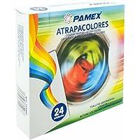 PAMEX Toallitas Absorbentes Atrapa Colores Atrapacolores 12x24cm 24 Toallitas