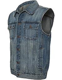 TB514 Gilet en jeans