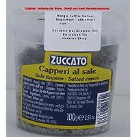 Zuccato Capperi al Sale 6 x 100g = 600g Kapern in Salz