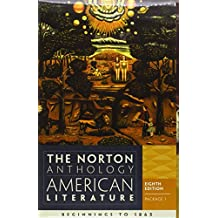 The Norton Anthology of American Literature 8e V1 A & B Package