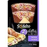 Sodebo Galettes x 2 Lardons Raclette 350 g