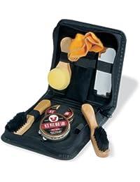 Kit Set per pulizia scarpe con 7 accessori in elegante custodia